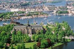 Nordiska museet, музей северных стран в Стокгольме, Швеция