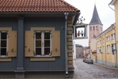 "Tartu Teatri Kodu, кукольный театр ""Театральный Дом"" в Тарту"