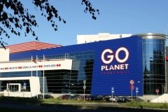 The Go Planet entertainment compex in Riga, Latvia