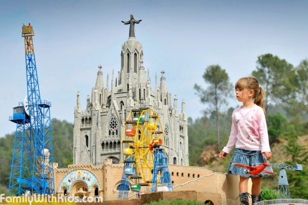 The Catalonia in miniature park in Barcelona, Spain