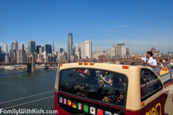 The Big Bus Hop-on Hoр-off, bus tours in New York, USA