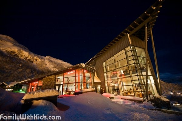Skarsnuten Hotel, restaurant and bar at the Hemsedal Ski Resort in Norway