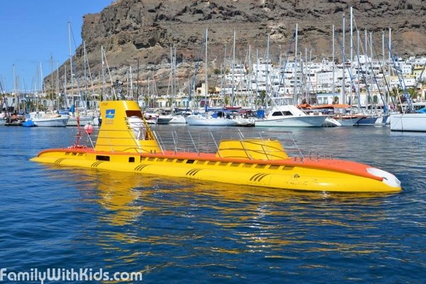 Submarine Adventure Mogan, trip to Puerto-de-Mogan by submarine, the Canary Islands