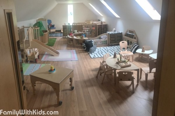 Rise & Shine Day Nursery, частный сад в районе Sidcup, Лондон, Великобритания