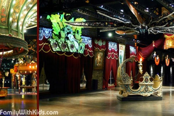 Musée des Arts Forains, the Museum of funfair objects in Paris, France