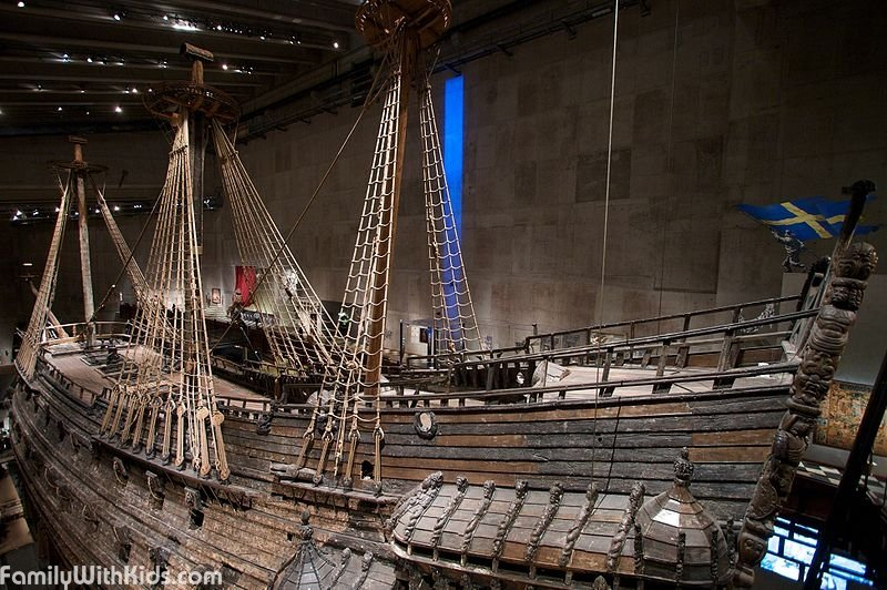The Vasa Museum in Stockholm, Sweden