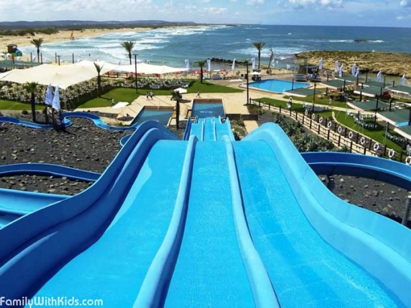 The Shonit Waterpark in Atlit, Israel