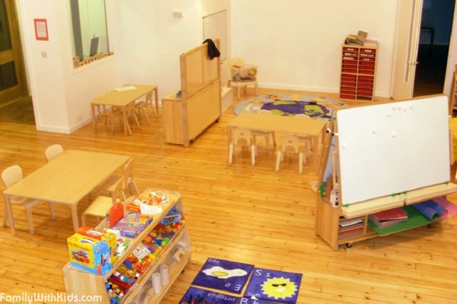 Les Petites Etoiles, a bilingual private daycare center in Islington, London, UK