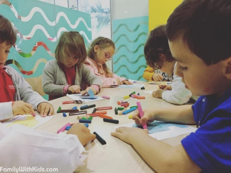 The English for Fun Language School, English for kids aged 1 and older in Madrid, Spain
