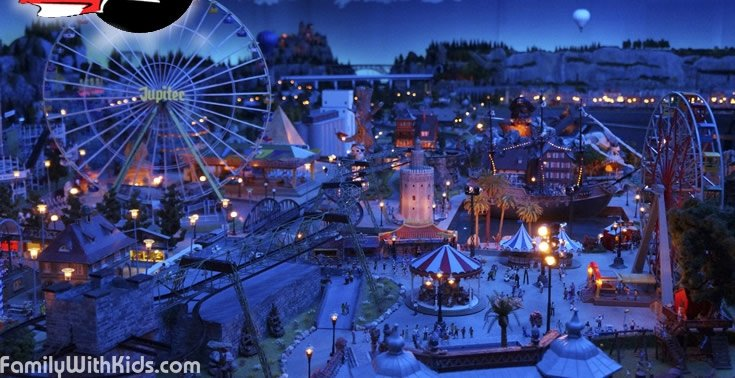 The Magic World of Trains miniature museum not far from Barcelona, Spain