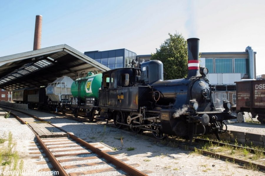 The Railroad Museum in Odens, Denmark