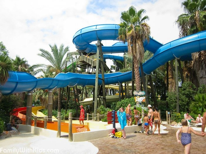Aventura Park in Bordighera