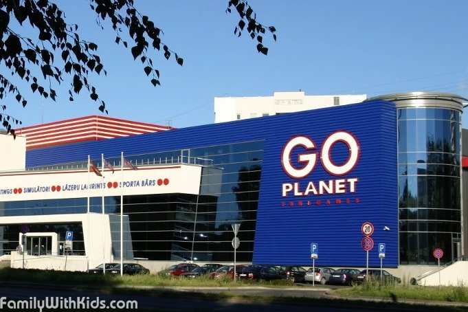The Go Planet entertainment compex in Riga, Latvia, closed